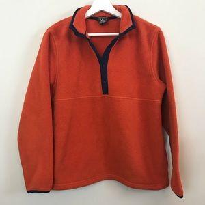 $10 CLOSET SALE❗️ L.L. Bean Orange Fleece Pullover
